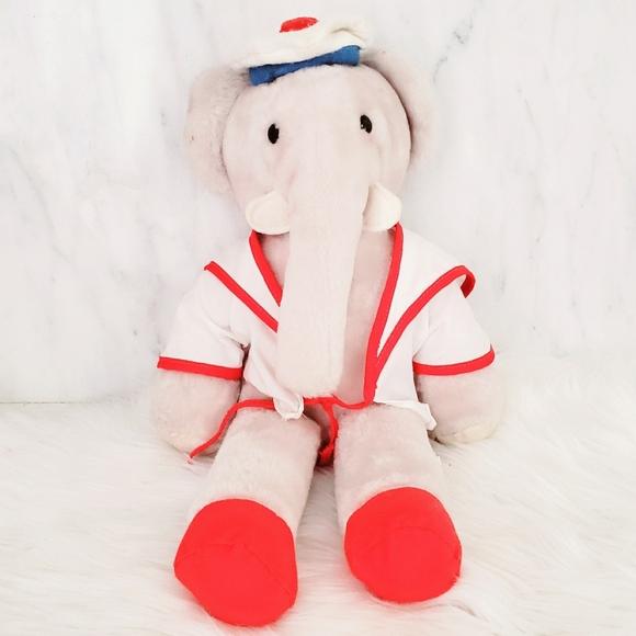 Vintage Other - #1373 1977 Vintage Babar the Elephant by Eden